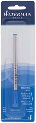 Waterman Pointe fine Recharge pour stylo roller – Bleu
