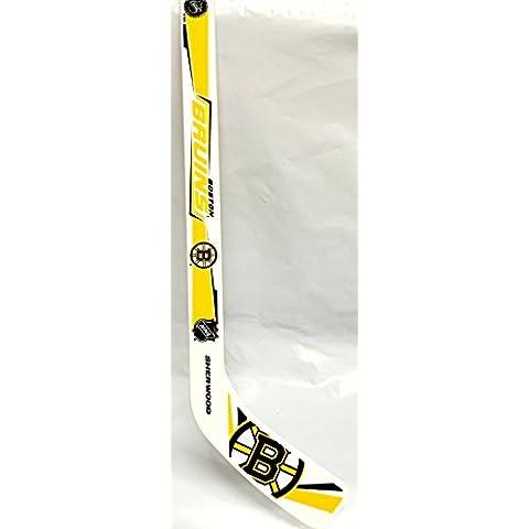 Boston Bruins Mini Player Plastic Stick by Sherwin