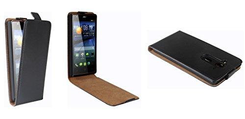 PATONA Slim Flip Case Klapp-Tasche Schutz-Hülle für Acer Liquid E3/E3 Duo Plus