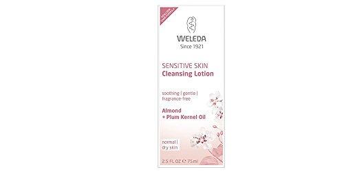 Weleda - Amande - Lotion nettoyant confort - Peaux sensibles ou réactives - 75 ml