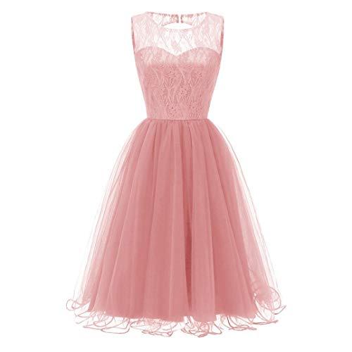 Resplend Frauen Party Aline Swing Kleid Vintage Prinzessinenkleid 2018 neu Blumen Spitze...