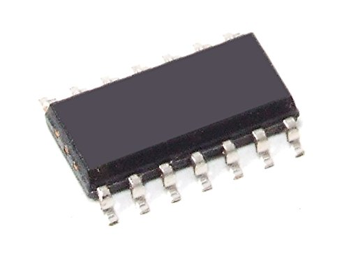 5x Texas Instruments HC08 Quad 2-Input AND Gate / Gatter 4-fach SMD IC SO-14 6V (Generalüberholt)