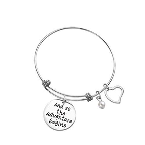 Imagen de pulsera keybella best friends e inspirational pulseras de la amistad, ajustable, regalos, joyas sister gift.