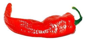 Keim Seeds: 100 Lange rote Cayenne-Pfeffer Capsicum Annuum Gemüsesamen -