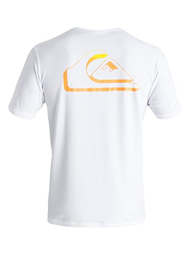 Quiksilver Herren T-Shirt Weiß Weiß Weiß - Weiß
