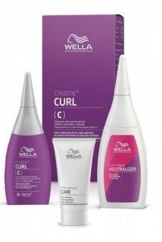 Wella CREATINE+ CURL C HAIR KIT 75+100+30 ml