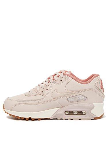 buy online 51fe2 0d73f ... Nike Air Max 90 Cuir 921304600, Scarpe Sportive Rose ...