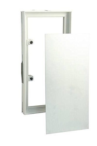 MARLEY Fliesenrahmen Kunststoff/Stahlblech, 156x309mm