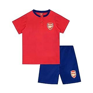 Arsenal FC Boys Football Club Pyjamas Multicoloured Age 9 to 10 Years