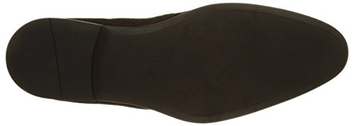 Pellet Action, Desert Boots Homme Noir (Velours Stamp Noir)