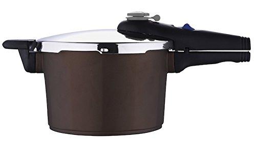 Bergner Sacher - Pentola  a pressione, 22 cm, 4 litri