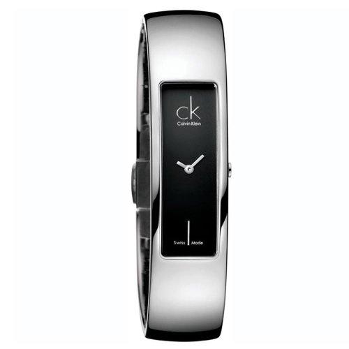 Calvin Klein Element K5023102 - Reloj de mujer de cuarzo, correa de acero inoxidable color plata