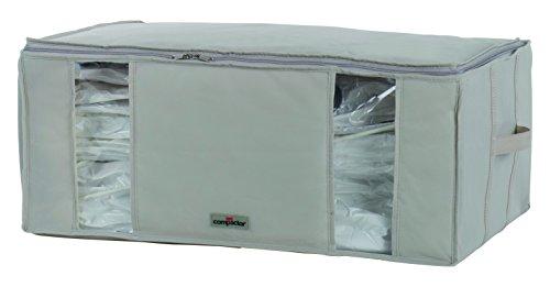 Compactor RAN7650 - Funda de almacenaje al Vacío (Polipropileno, 65x50x27cm), Color Beige