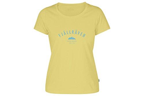 Fjällräven Damen Trekking Equipment W T-Shirt, Pale Yellow, L