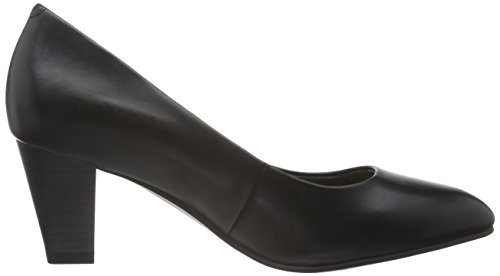 Tamaris Damen 22414 Pumps Schwarz (Black Leather 003)