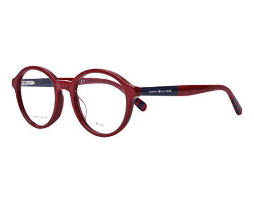 Tommy Hilfiger Brille (TH-1587-G C9A) Acetate Kunststoff bordeaux - blau