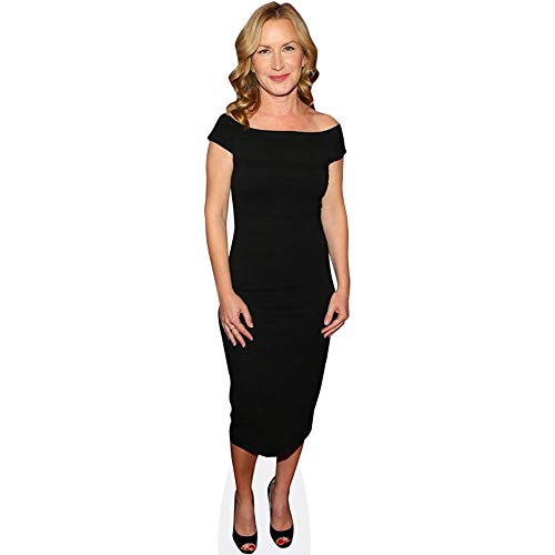 Celebrity Cutouts Angela Kinsey (Black Dress) Pappaufsteller Mini