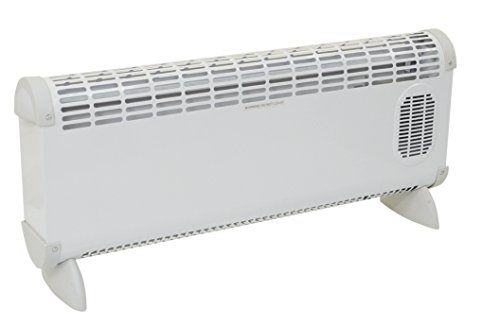 31Aul2B4pZL - 2.5KW Low Level Convector Heater with Adjustable Thermostat and Turbo Fan