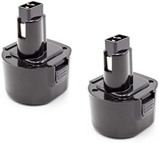 Vhbw 2x NiMH batteria batteria batteria 1500mAh (9.6V) per strumenti attrezzi utensili da lavoro Dewalt DW926K-2, DW955, DW955K, DW955K-2 | Buona reputazione a livello mondiale  | Alta sicurezza  | Durevole  1e50f6