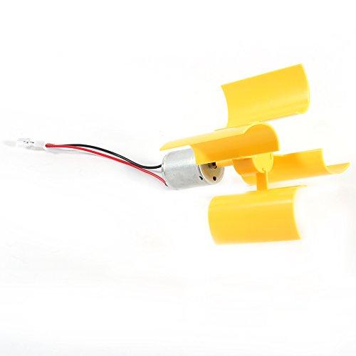 Aerogenerador - Kit de bricolaje, aerogeneradores verticales de motor pequeño, generador de...