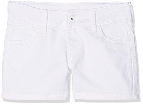 Pepe Jeans Tail, Bañador Niños, Blanco Denim, 16 años Talla del fabricante: 16