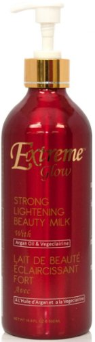 Extreme Glow Strong Lightening Beauty Milk with Argan Oil & Vegeclairine 500ml