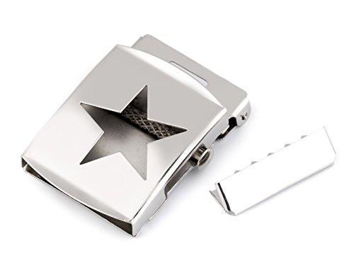 Superstar Gürtel (Gürtelschnalle mit Endstück 40 mm Superstar *NEU*)