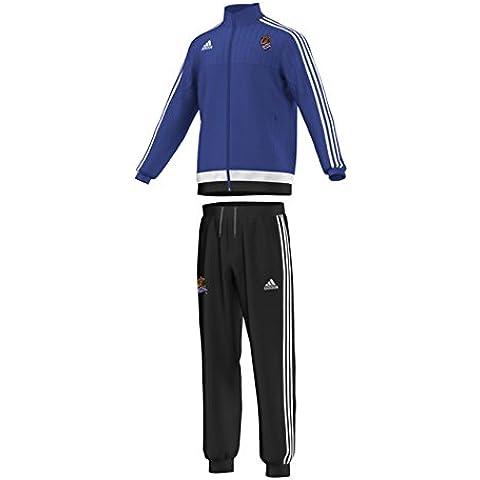 adidas RS Pes Suit Y - Chándal Valencia FC 2015/2016 para niño, color azul / blanco, talla 152
