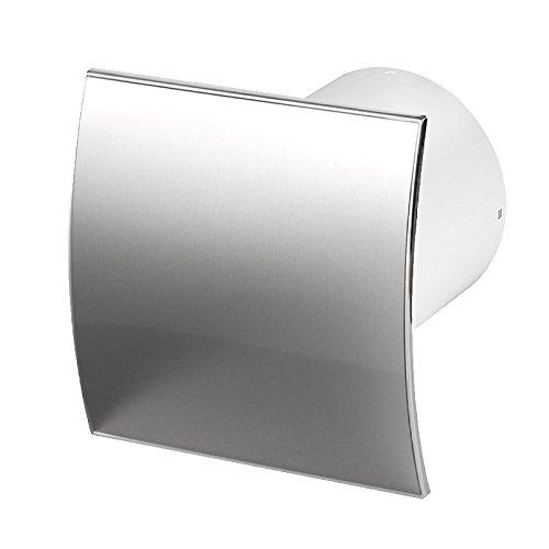 Ventilador de pared para baño, diámetro de 100mm, Rodamientos Silencioso, Escudoestándar Ø...