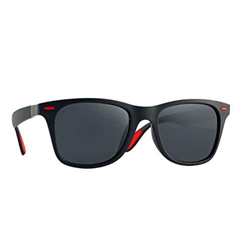 LCCYJ Polarisierte Mode Sonnenbrille mit UV400 Schutz Unisex Klassische Brille für Herren Damen,02