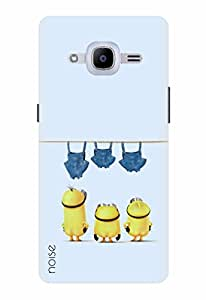 Noise Designer Printed Case / Cover for Samsung Galaxy J2 Pro - 6 (New 2016 Edition) / Animated Cartoons / Let Them Dry Design