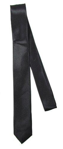 BB Accessories Skinny cravate - Noir - Taille unique