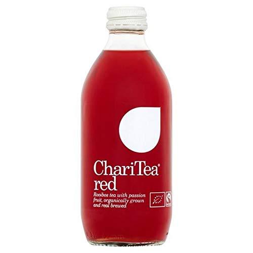 6x Charitea Rot Vereisten Rooibos-Tee Maracuja 330Ml