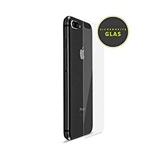 Artwizz SecondBack back protection for iPhone 8 made of safety glass - Secure protection against backside breakage, scratches and wear with anti-splinter protection - Designed in Berlin - 7332-2211