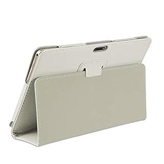 Balock Schuhe Tablet-Schutzhülle,Universal-Silikonschutzhülle,Für 10 10,1 Zoll Android-Tablet-PC (Weiß)