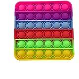 Pop it Fidget & Finger Toys - Square - Multi color