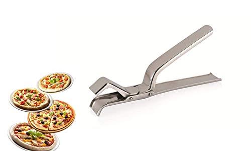 Pizzazange Pizzablechzange Blechzange Pizzablech Blech Zange aus Edelstahl 19 cm - pizza tong