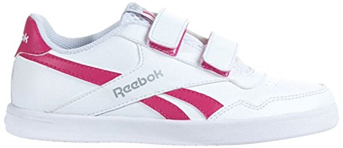Reebok Boy's Royal effet ALT survêtement Bianco / Rosa