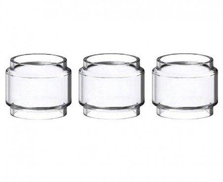 Birne Pyrex Ersatzglas für TFV12 Prince Verdampfer (Packung von 3) Enthält Kein Nikotin (Hoch Drei-birne)