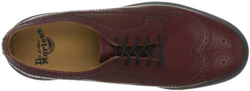 Dr Martens 3989 Smooth, Chaussures de ville mixte adulte Rouge cerise