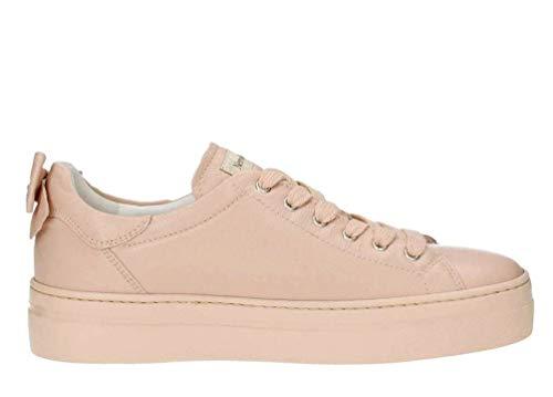 Nero giardini p907812d/631 sneakers scarpe donna sportive lacci stringhe carne 40eu