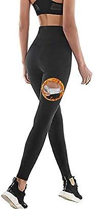 NHEIMA Pantaloni Sauna Dimagranti, Leggings Anticellulite Donna Fitness, Legging Termici Vita Alta in NANOTECH