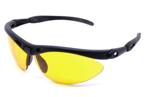 Subke 4009 Lunettes de soleil X-treme pour le sport - orange - oranger Rahmen, graue Gläser - taille unique