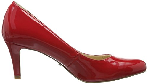 Buffalo David Bitton C404a-1 P2010l Patent, Escarpins Femme Rouge (Red)
