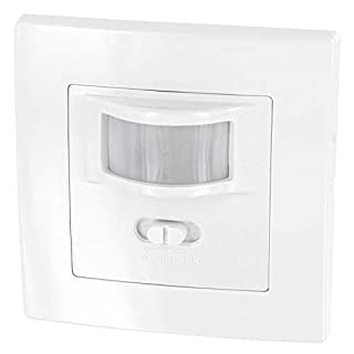 Flush-mounting PIR  Motion Detector 160 °, Suitable for LEDs, 2 Wire, Minimum Power only 1 W, for UP Sockets Ø 60 mm and Cavity Wall Sockets Ø 68 mm