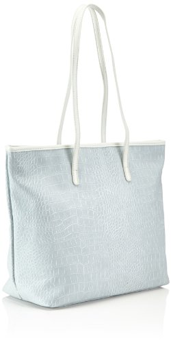 Tamaris - IVY Shopper, Borsa Donna Blu (Blau (light blue 810))
