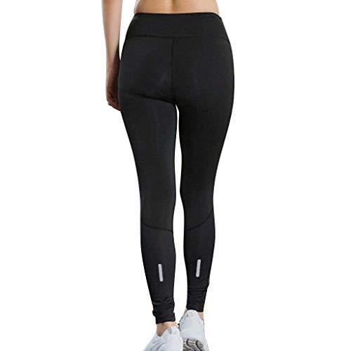 YpingLonk Damen Fitness Yoga Hose Reflective Night Run Sporttraining Schnell trocknende Enge Hose Laufhose schlank schlank Günstig und ermäßigt -