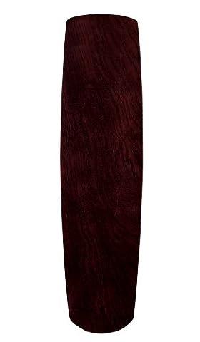 Carrera Grande Solid Wood Blade in Dark Mahogany - Set of 5 (25 inch)