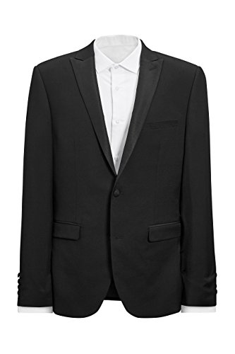 next Veste de smoking slim Signature Coupe Slim Homme Noir