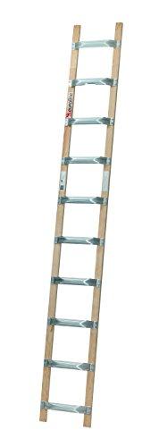 Euroline Holz/Alu-Dachdeckerauflegeleiter Nr. 11102